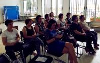 Asistentes a la conferencia impartida por Mercedes Osuna.