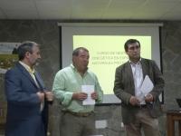 De izq. a dcha Miguel Moreno, Pablo García y Juan Carranza