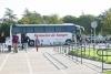 El autobus del Centro Regional de Transfusión sanguínea en el campus de Rabanales