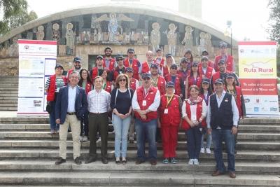 Foto de familia de profesores y alumnos del Máster en Estrategias para el Desarrollo Rural y Territorial