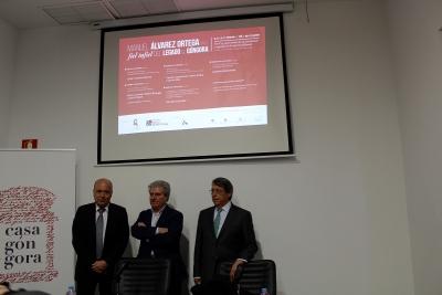 Joaquín Roses, César Antonio Molina y Juan Pastor