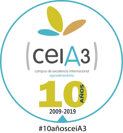 Logo del X Aniversario del ceiA3