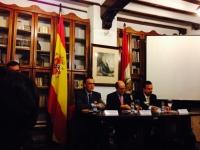 De izq a dcha Jose Carlos Gómez, Federico Cabello de Alba y Javier Sánchez
