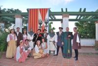 Integrantes del grupo teatral