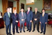 Los rectors andaluces, esta mañana en Sevilla