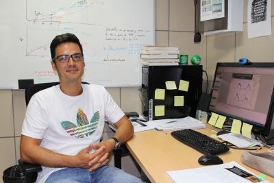 El investigador Omar García Tejera