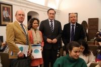 De izqda. a dcha. Salvador López Quero, María Martínez-Atienza de Dios, José Carlos Gómez Villamandos, y Ricardo Córdoba de la Llave.