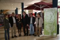 Un momento de la inauguración de la II Feria de Consumo Responsable