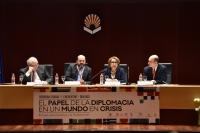 Un momento de la mesa redonda centrada sobre Iberoamérica.