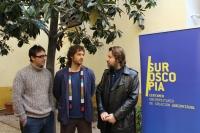 De izquierda a derecha, Pablo García Casado, Pablo Rabasco y Albert Serra