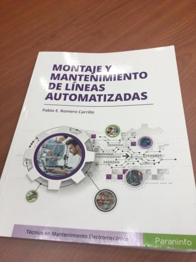 Publicación sobre automatización realizada por el investigador Pablo Romero