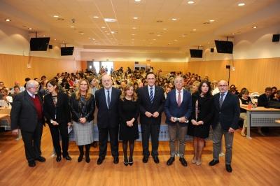 Foto de familia de la inauguración del encuentro