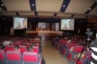 Investigadores conectan desde la Antártida con el salón de actos del Rectorado