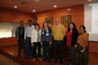 Autoridades en la inauguración de la IX Muestra de Cine Indígena