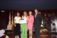 Isabel Ambrosio, Rosa Gallardo, Carmen Ortiz y José Carlos Gómez Villamandos