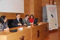 De izquierda a derecha, Manuela Álvarez, José Carlos Gómez, Eulalio Fernández y Mª Carmen Balbuena.