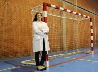 La doctora del departamento de Ciencias Morfológicas, Diana Vaamonde