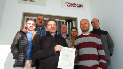 Miembros de la Unidad de Apoyo Tecnológico
