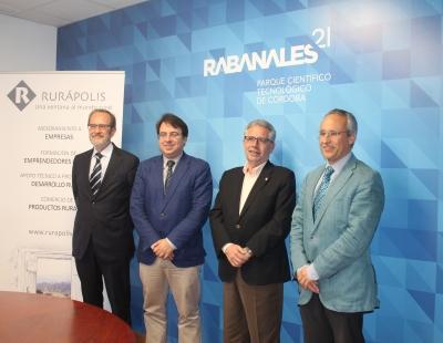 Rabanales 21  y Rurápolis se unen para impulsar la innovación en el ámbito agroalimentario