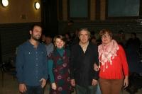 De izqda. a dcha., José Fabra, Alejandrina Urquízar, Melchor Guzmán y Esther Casado