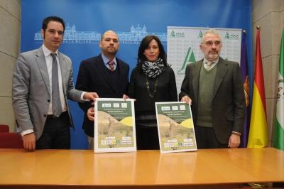 Julio Criado, Enrique Quesada,Maria Luisa Ceballos e Iñigo Fernández