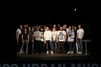Foto de familia de las formaciones musicales seleccionadas para la edición de 2016 de Uco Urban Music.