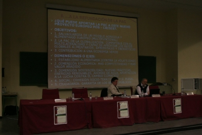 Un momento de la reunión 'Horizonte 2020: PAC y Desarrollo rural para el siglo XXI'
