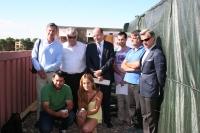 Autoridades e integrantes del proyecto