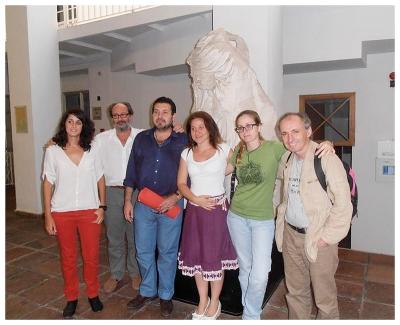 miembros del equipo de investigación sobre artesania