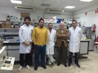 equipo de investigación 'Biorrefinería de materiales lignocelulósicos de la industria agro-alimentaria', del Departamento de Química Inorgánica e Ingeniería Química