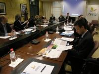 La comisión, al inicio de su reunión