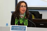 María José Romero, vicepresidenta de CEUNE