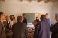 El profesor de la UCO, David Bullejos, en una de las clases del curso.