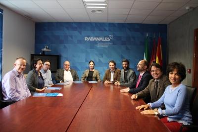 Directivos de Innovation Group en Rabanales 21