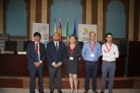 De izquierda a derecha, Daniel Escacena, Enrique Quesada, Cristina de Toro, José Manuel Moreno y Francisco Javier Casado.