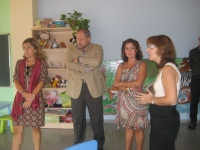 María Isabel Baena, Manuel Torralbo y María Jesús Botella