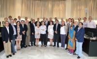 Integrantes del Consejo de Gobierno al término de la sesión