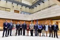 Asistentes a la Comisión Académica del Consejo Andaluz de Universidades