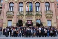 Foto de familia del V Congreso Científico de Investigadores en Formación de la Universidad de Córdoba