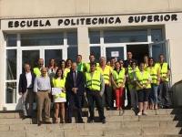 Foto de familia de los nuevos integrantes del equipo de emergencia de la EPS de Belmez