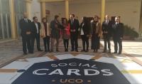 Autoridades en la presentación de UCO Social Cards
