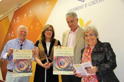 De izquierda a derecha, José Cosano, Julieta Mérida, José Juan Aguilar y Mª José Porro