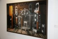 Una de las obras de la exposición
