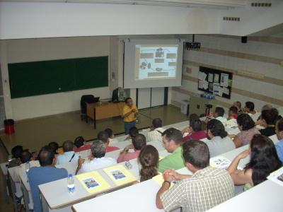 Una de las exposiciones realizadas durante el  curso