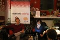 Esteban Hernández durante la charla