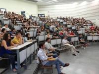 Alumnos de Veterinaria durante una clase