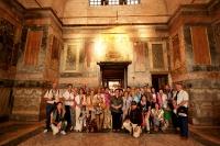 Visita a la iglesia de San Salvador en Chora