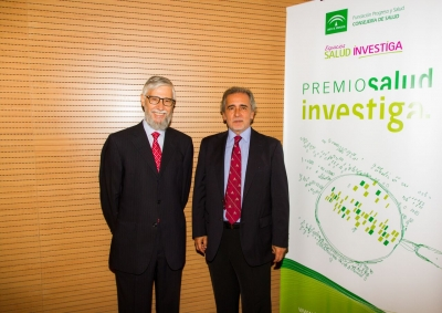 De izquierda a derecha, Francisco Pérez Jiménez y Eduardo Collantes