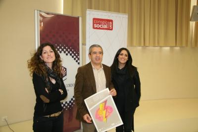 Lucia Aguilar, Melchor Guzmán y Carmen González