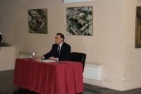 Jose Carlos Gómez Villamandos durante su intervención